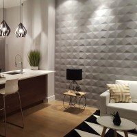 Decorative 3D MDF Wood Wall Panels