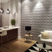 Decorative 3D MDF Wood Wall Panels - Lucy Design