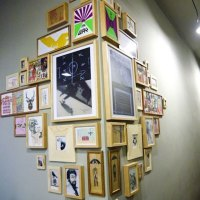 Corner frames wall decoration