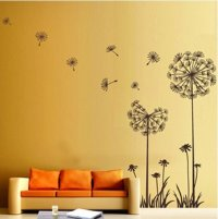 Dandelion Flower Wall Decoration - Wall Decoration ...