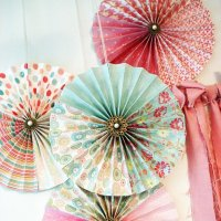 Fanned Paper Wall Decoration
