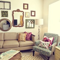 Mirror Wall Art for Living Room
