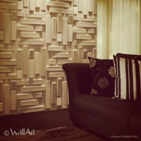 Wall Decoration with 3D Bricks