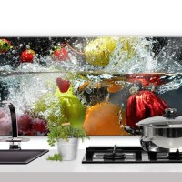 Refreshing Fruit - Panorama - Kitchen Splashback