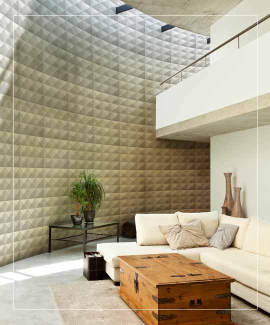 Peel Stick 3D Wall Panel  Diamond Design 12 Panels 32sf