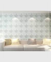 Peel & Stick Plastic Wall Panel - Circle Design. 12 Panels ...