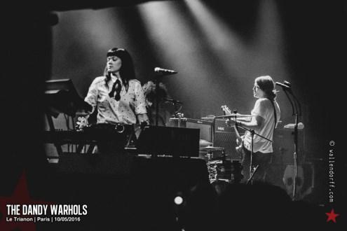 The Dandy Warhols @ le Trianon, Paris, 10/05/2016