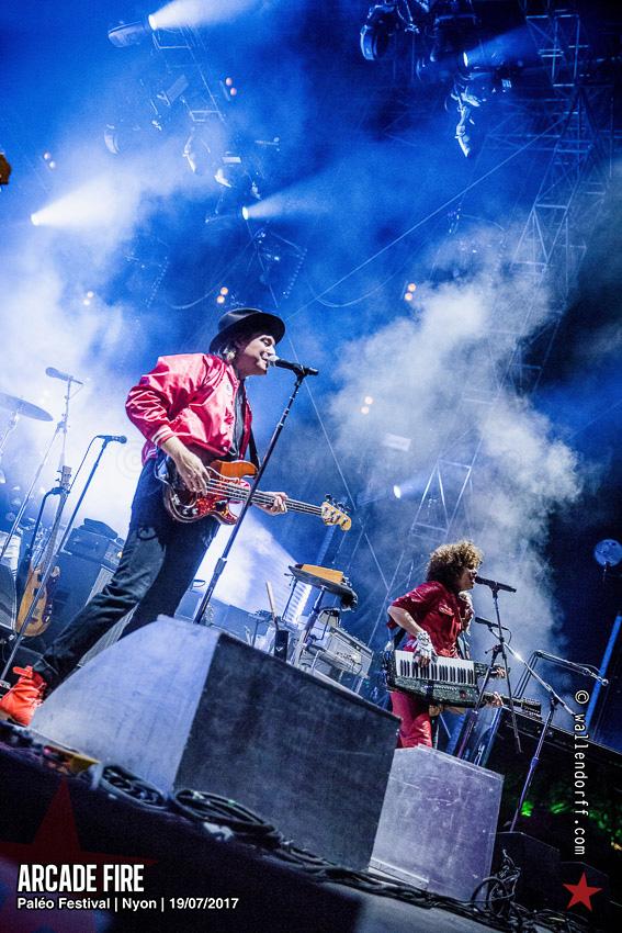 Arcade Fire @ Paléo Festival, Nyon, 19/07/2017