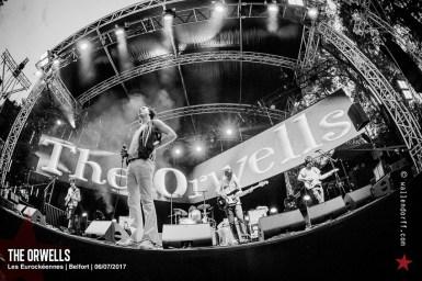 The Orwells @ les Eurockéennes, Belfort, 06/07/2017