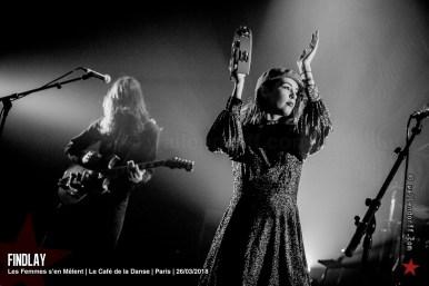 Findlay @ Les Femmes s'en Mêlent, le Café de la Danse, Paris, 26/03/2018
