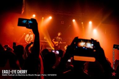 Eagle-Eye Cherry @ MaMA Festival, la Machine du Moulin Rouge, Paris, 19/10/2018