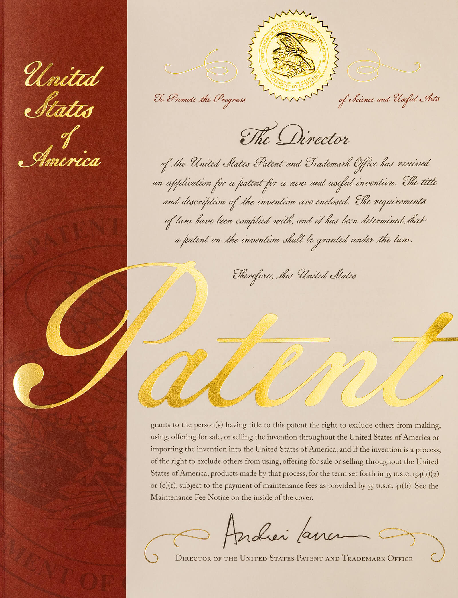 Celebrating Patent 10000000 and 9000000and