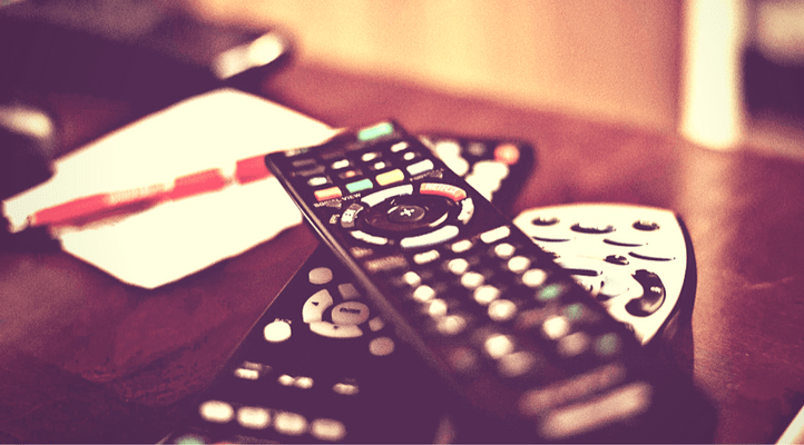 Brilliant ways to save money on telvision features a pile of remotes