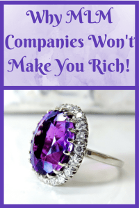 Working for MLM companies will drain your wallet. Learn the reasons why you need to avoid them if you want to be rich.