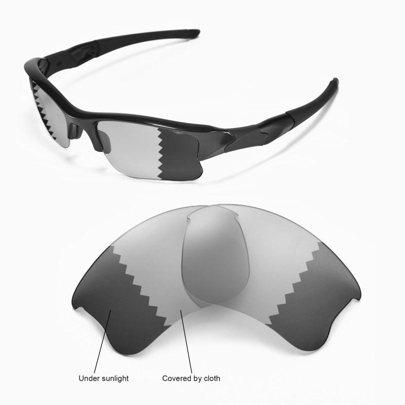 ebeb79261f New Walleva Polarized Transition Photochromic Lenses For Oakley Flak