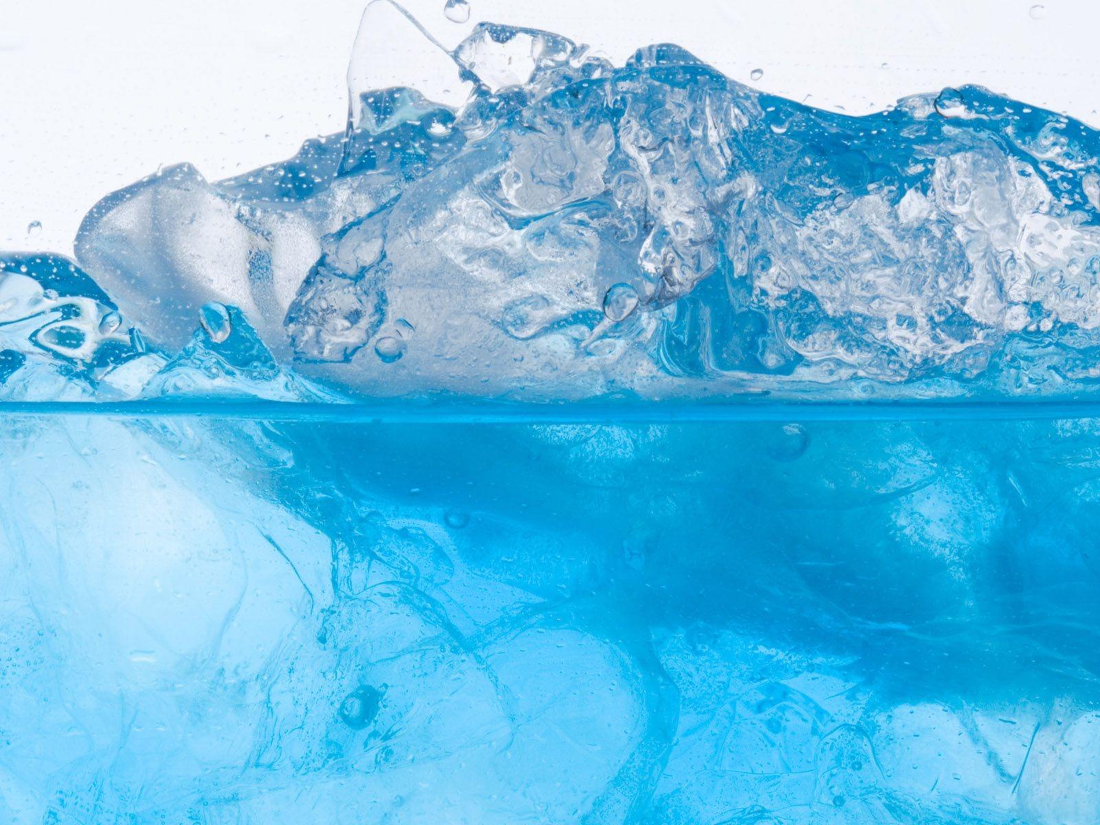 Fond d'ecran Glace eau fraiche