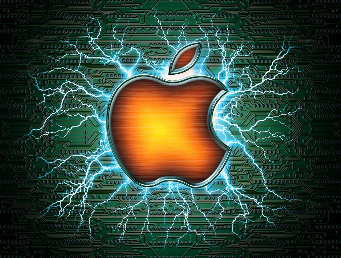 Fond Decran Apple Dessins 1266 Wallpaper