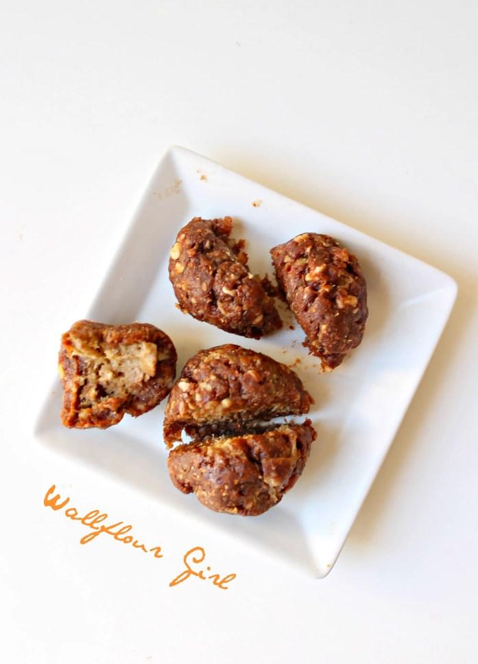 Healthy Peanut Butter Stuffed Chocolate Balls (Vegan, Optional Raw) 9--050214