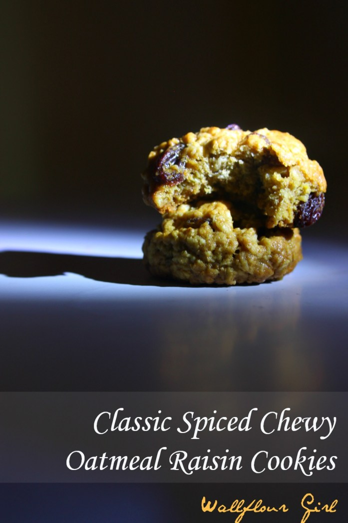 Classic Spiced Oatmeal Raisin Cookies 8--061814