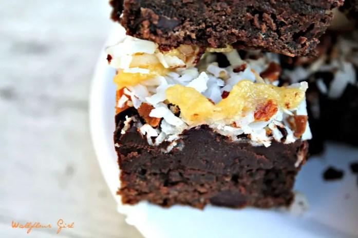 German Chocolate Fudgy Brownies 11--083114