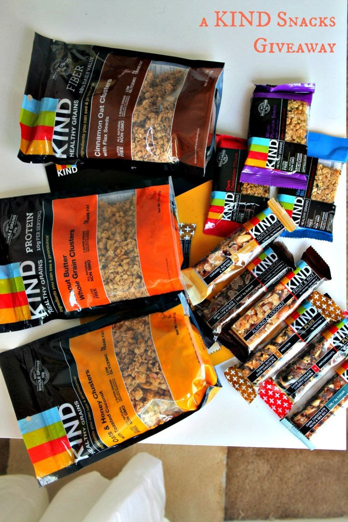 KIND Snacks Review and Giveaway 3--081514