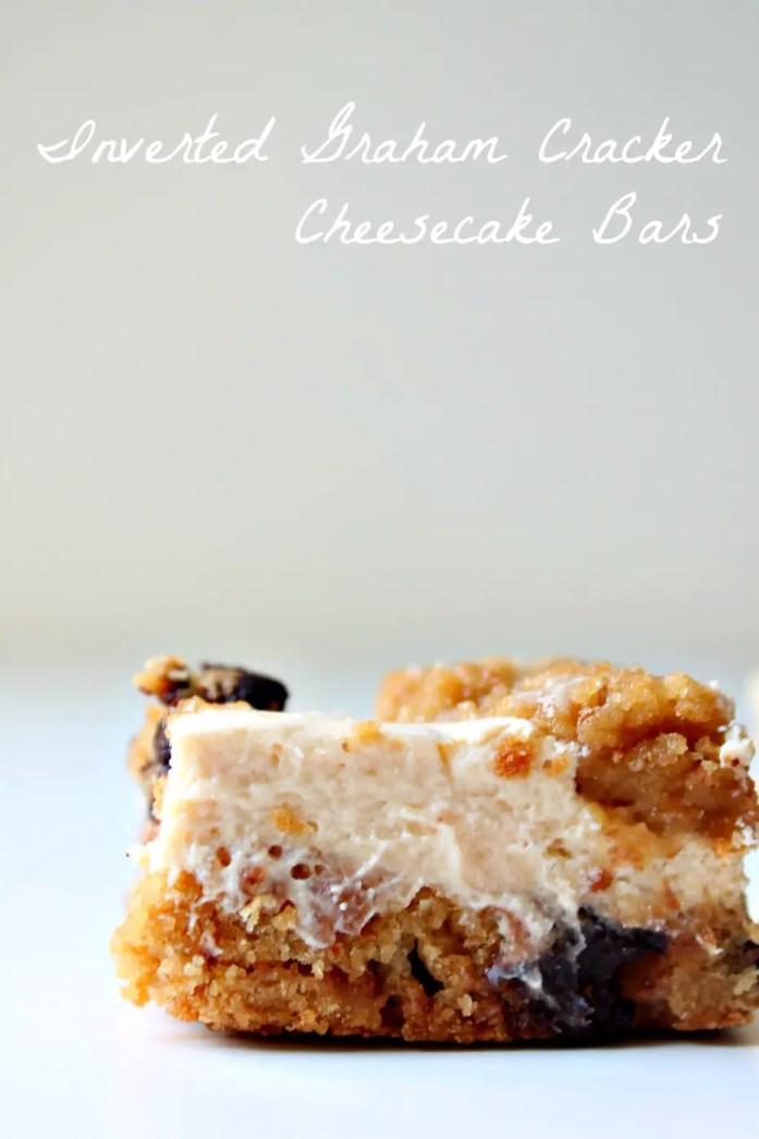 Inverted Graham Cracker Cheesecake Bars 4--101414