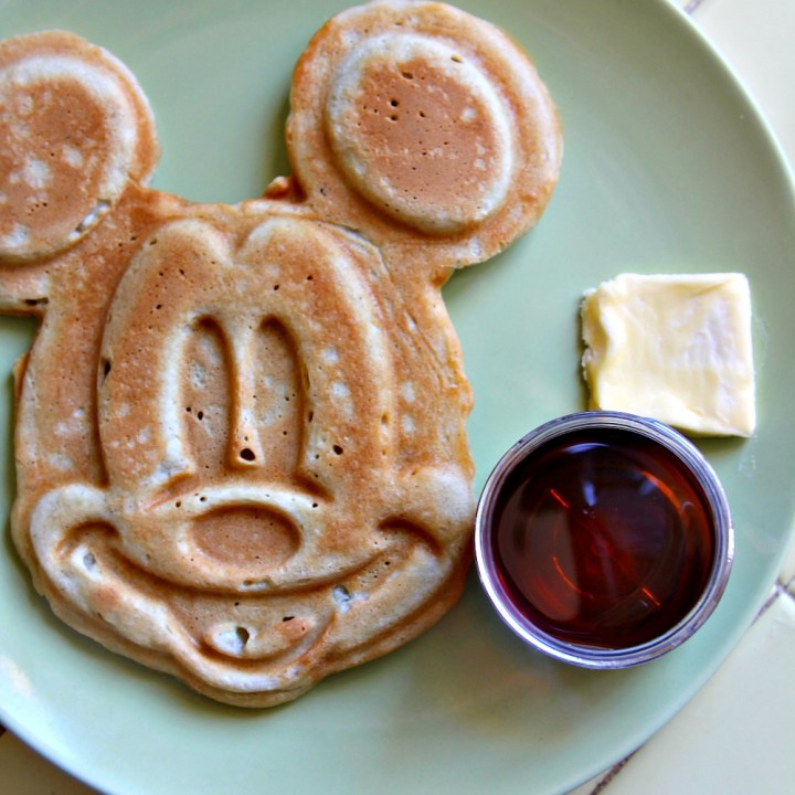Mickey Mouse Waffles for #SundaySupper