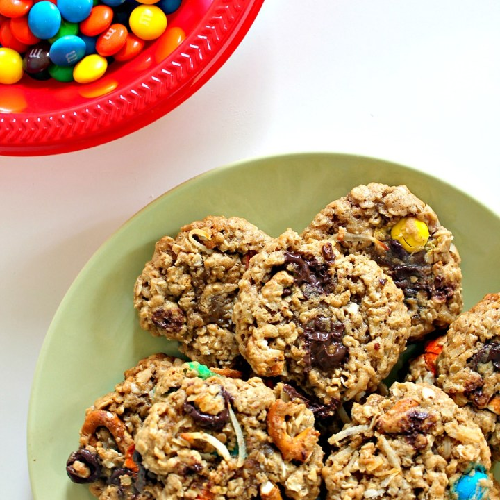 Loaded Oatmeal Monster Cookies { + loads of updates! }