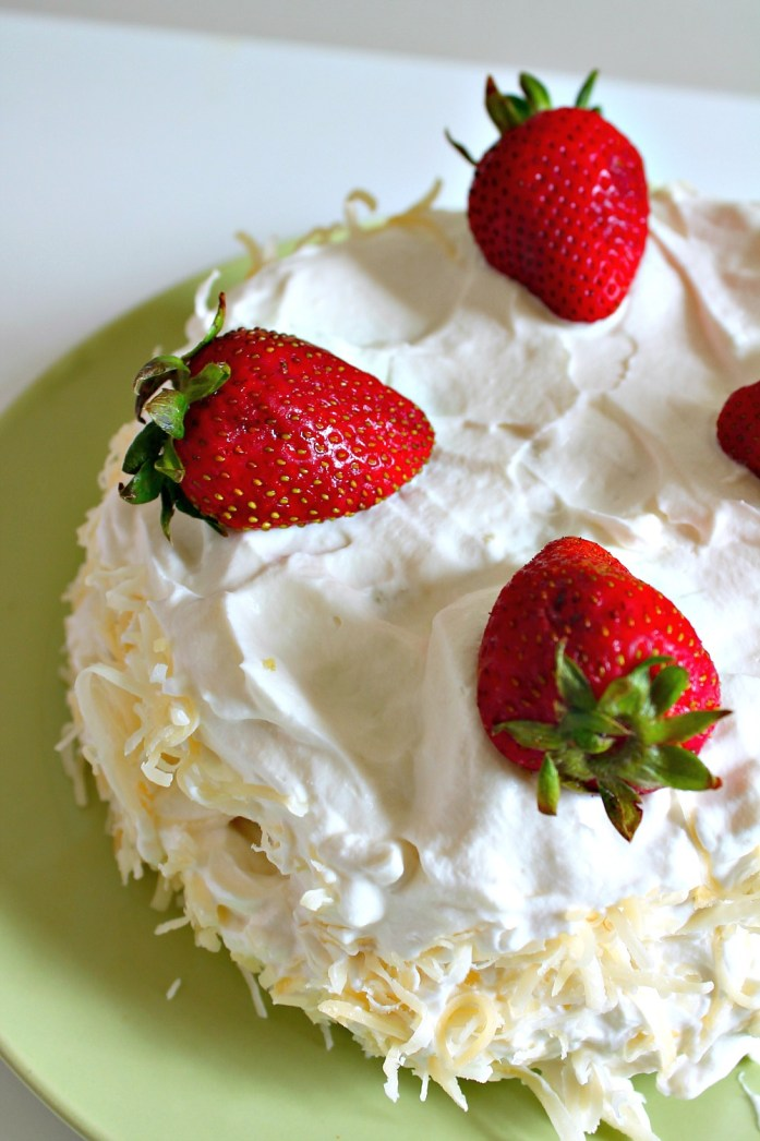 Steamed-Strawberry-Coconut-Poke-Cake 4--051015