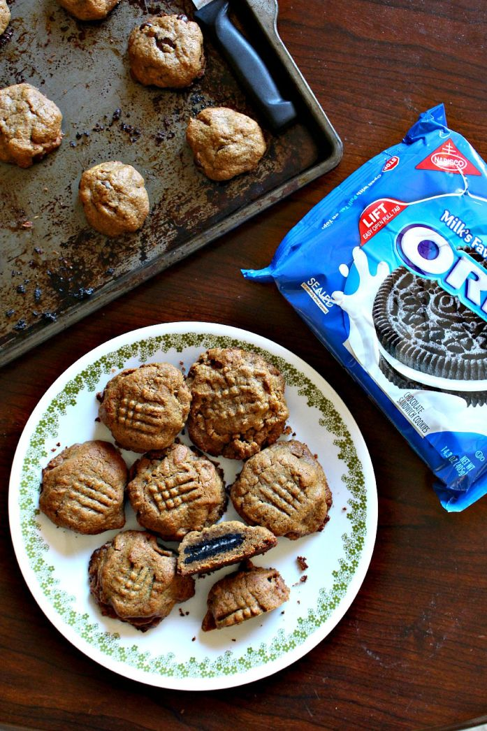 Oreo-Stuffed Peanut Butter Cookies 1--081715