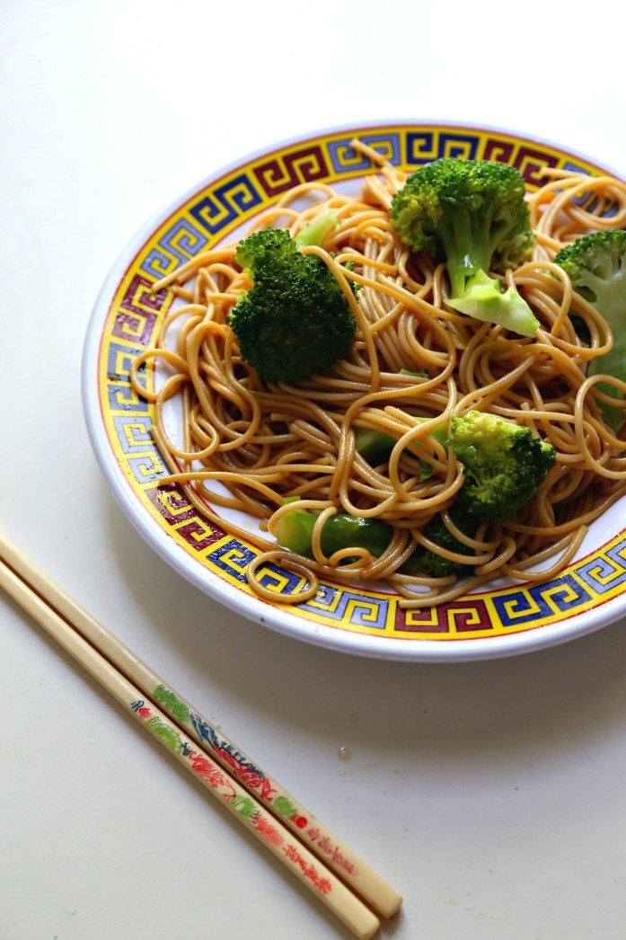 Asian Sesame Noodles with Broccoli 4--040716