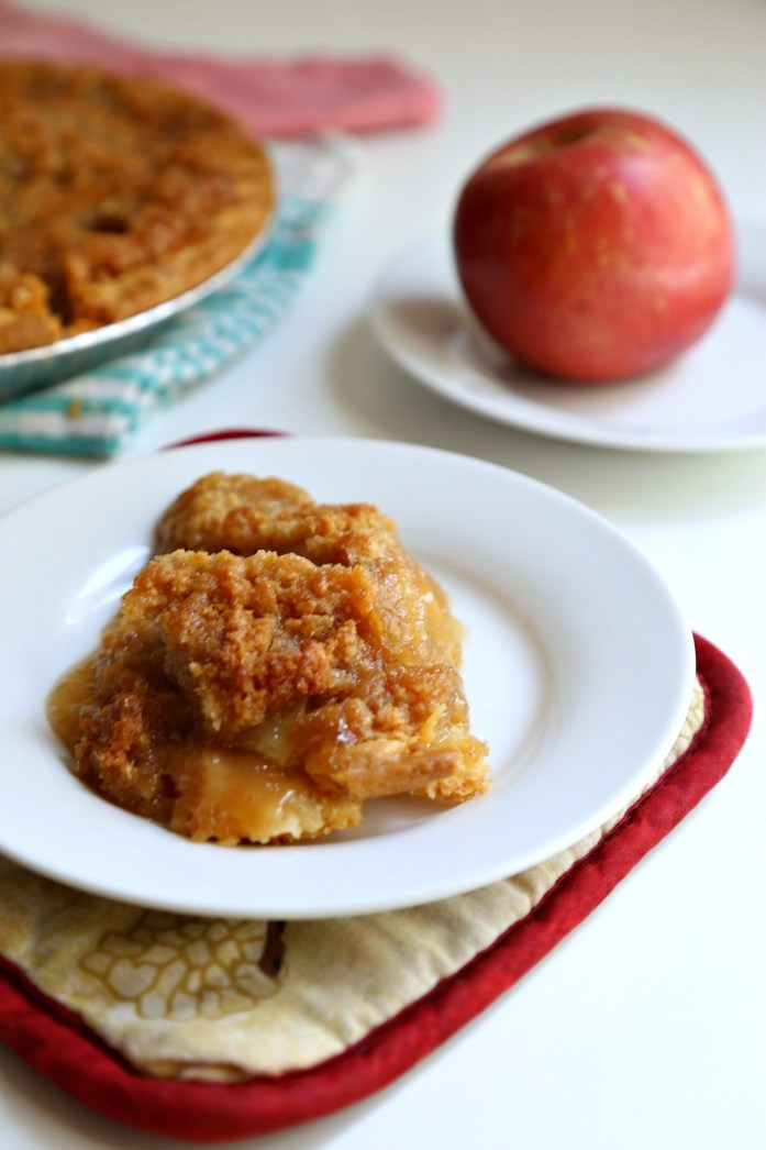 Easy French Apple Pie 7--061816