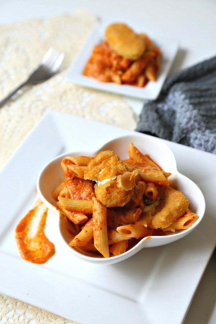 Creamy Tomato Penne Pasta with Jalapeno Poppers 2--103016