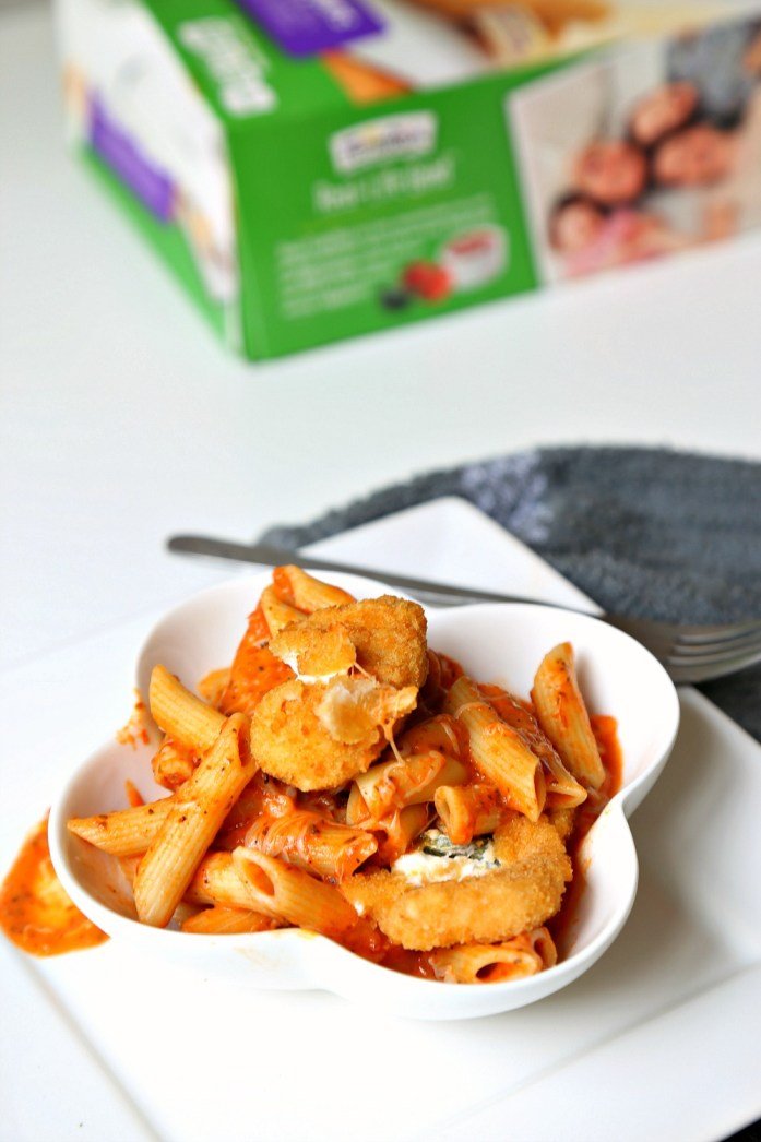 Creamy Tomato Penne Pasta with Jalapeno Poppers 6--103016