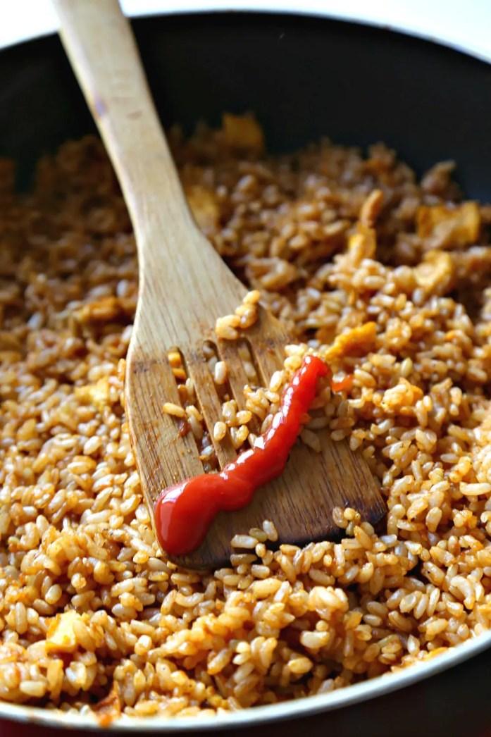 Ketchup Fried Rice 8--012317