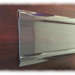 Johnsonite Chair Rail Diy Folding Vinyl Kitchen And Bedroom Interior Design Clear 3 W X 96 L Rh Wallguard Com System