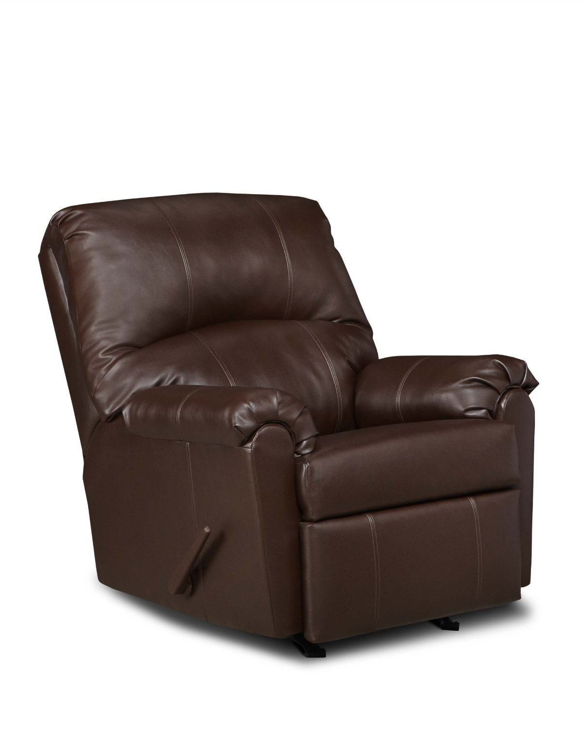 wall hugger recliner chair volcanic hanging leather recliners