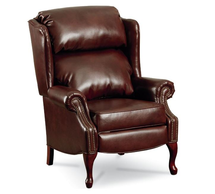 leather wingback recliner  Home Decor