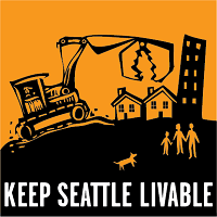 """Keep Seattle Livable"" logo"