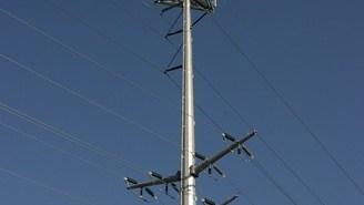 Electric Power Pole, Brentwood, Saint Louis, Missouri