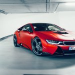 Red Color Bmw I8 Ac Schnitzer Sport Car High Quality Wallpaper