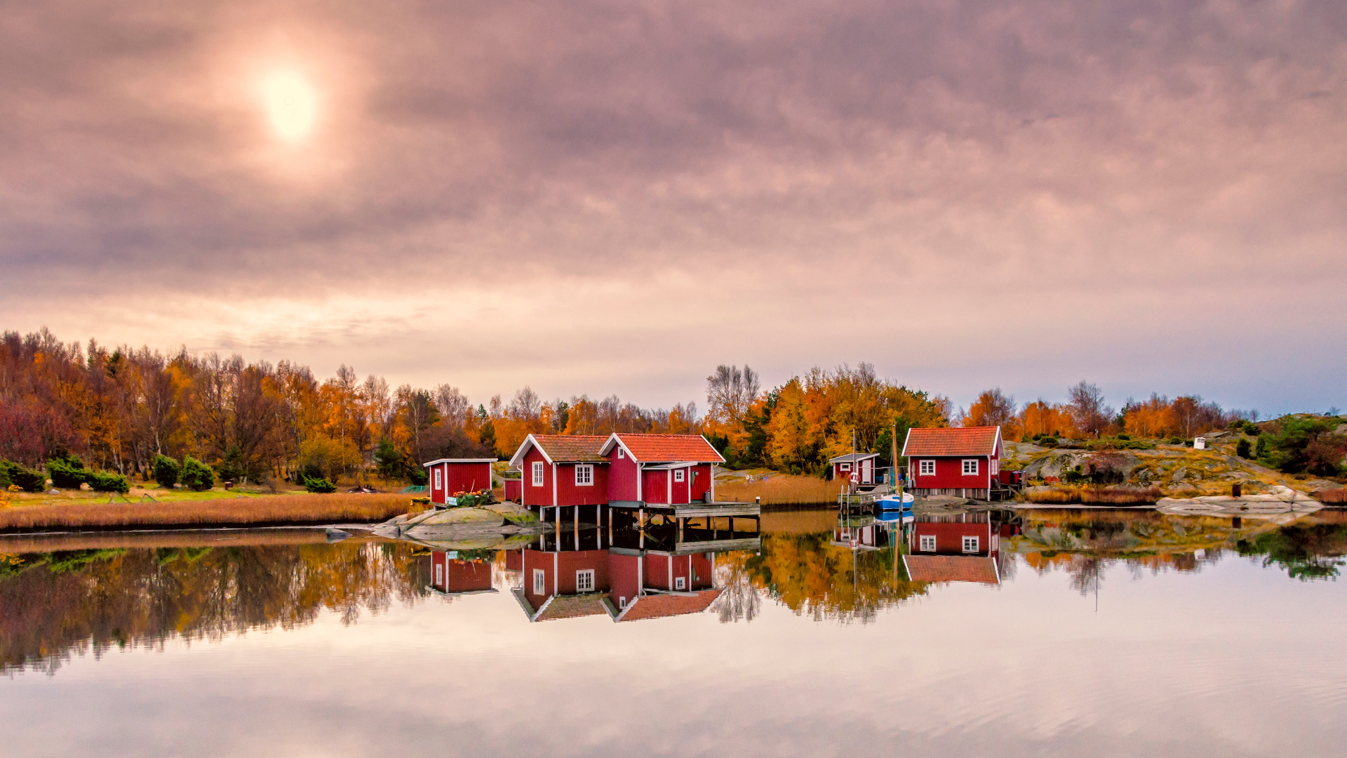 Fall Season Wallpapers Desktop Beautiful Autumn Scene Photography In Sweden Wallpapers