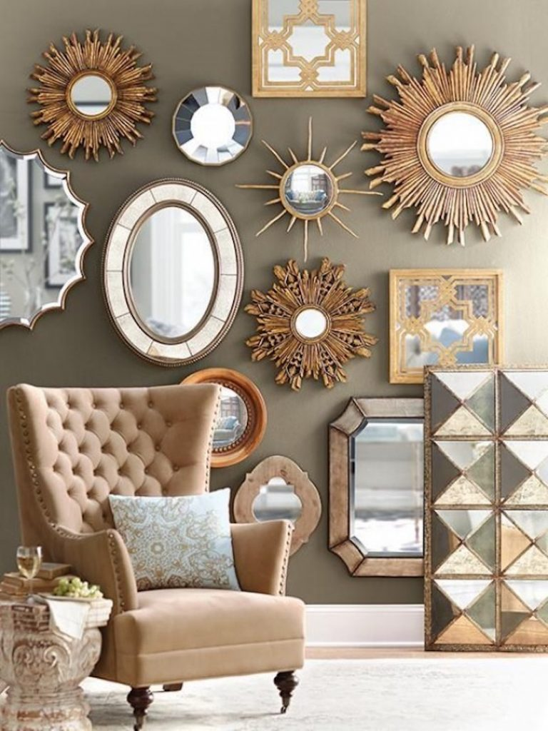 10 Wall Mirror Ideas That Will Give the Unique Look to Your Room