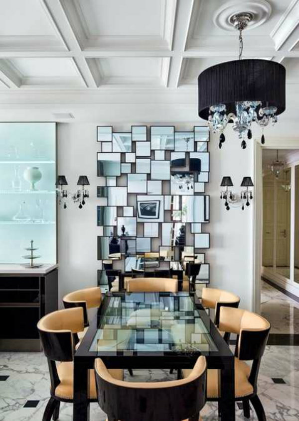 how to decorate oblong living room furniture designs for small incorporate multiple mirrors into your home decor