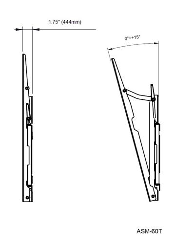 New Item Vizio E500i-A1 tilting TV wall mount, In Stock