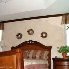 Wall Mural Ideas For Living Room Small House Interior Design In India Faux Finishes - Examples Of Hand-painted ...