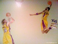 Sports Wall Murals - Examples of Sports Murals