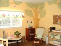 Tree Wall Murals - 50 Hand-painted Tree Wall Mural ...