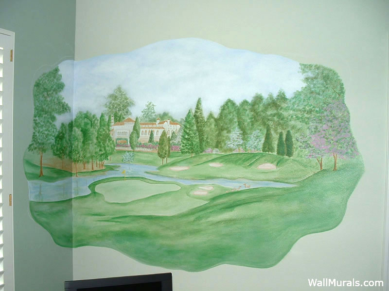Sports Wall Murals  Examples of Sports MuralsWall Murals