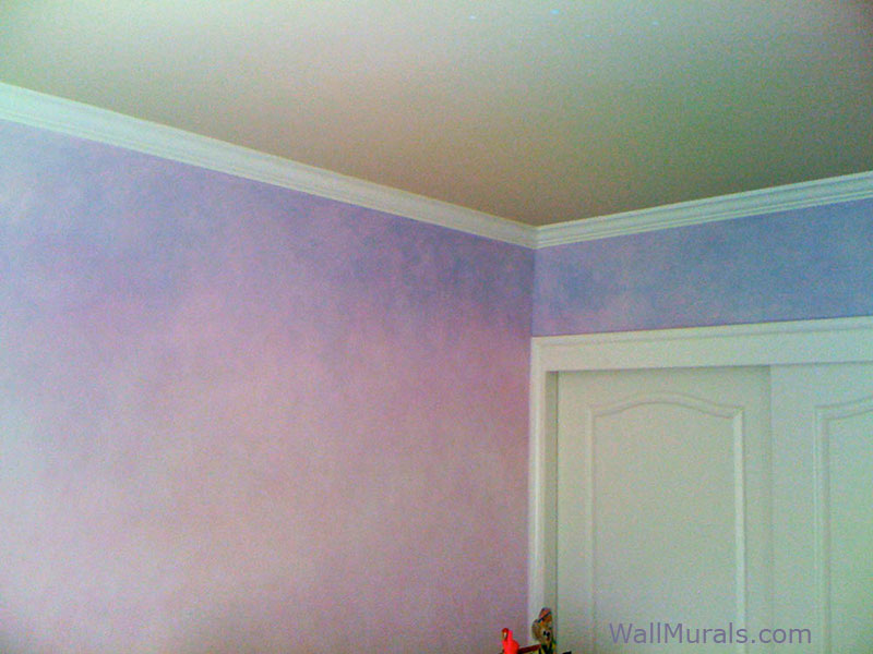 painting ideas for kitchen and living room open plan plans faux wall finishes - examples of hand-painted ...
